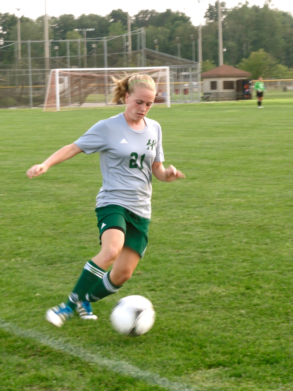 Rachel TerMarsch is one of seven women's soccer players leading the Foresters this season. Photo Provided