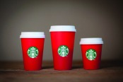 CONTROVERSY: Images featured on previous Starbucks' holiday cups haven't portrayed Christian images of Christmas