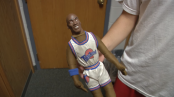 The Michael Jordan doll freshman Kevin Moser strung by the neck stirred campus-wide controversy. (Photo provided by Forester Digital News)