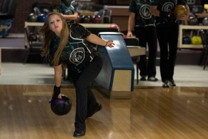 ATHLETE OF THE MONTH: Brooke Ewing tallied 48% of the 85 votes submitted on The Huntingtonian website. (photo provided by HU Athletics)
