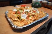 MACHO NACHOS: These nachos are quick and will satisfy any crunchy craving.        (Photo by Ehren Wynder)