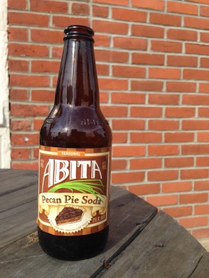 A TASTE OF THE SEASON:  Craft sodas come in hundreds of varieties for any mood. This Pecan Pie soda captures the taste of Thanksgiving.  Photo by Jean Donaldson