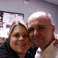 FINAL PHOTO: David Ray, a former employee of Huntington University, posed for what would be one of his last selfies with his wife of 23 years, Christy Ray. David was 44 years old. (Photo provided by Christy Ray.)