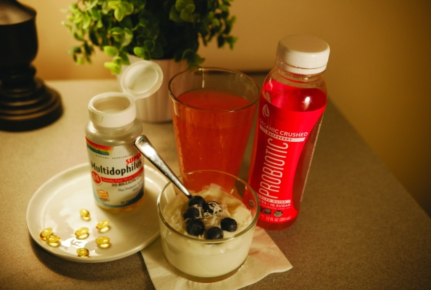 HEALTHY GUT: Yogurt, kefir, and supplements are all simple ways to pack in probiotics.